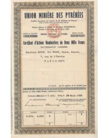 Union Minière des Pyrénées
