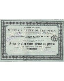 copy of S.A. des Minerais...