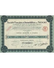 Sté Foncière & Immobilière du Tréport. 1926
