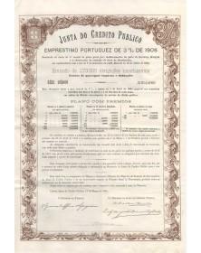 Junta do Credito Publico - Emprestimo Portuguez de 3% de 1905