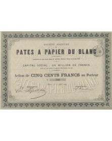 S.A. des Pâtes à Papier du Blanc (Indre)