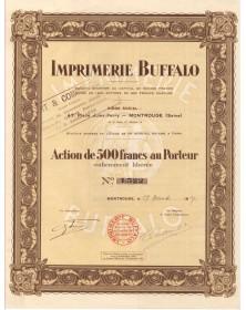 """Imprimerie Buffalo (""""Art & Commerce"""")"""