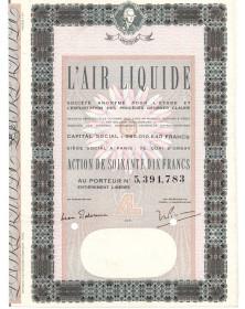L'Air Liquide. S.A. pour l'Etude et l'Exploitation des Procédés George Claude. 1971