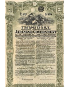 Imperial Japanese Governement - 5% Loan 1907