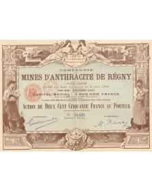 Cie des Mines d'Anthracite de Régny
