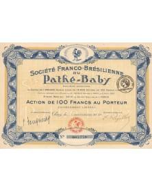 Sté Franco-Brésilienne du Pathé-Baby