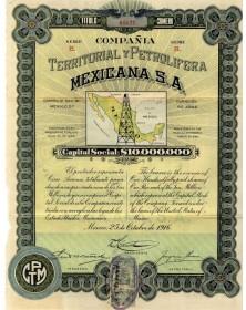 Compañia Territorial y Petrolifera Mexicana S.A.