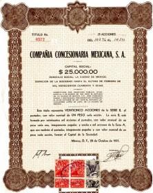 Compañia Concesionaria Mexicana