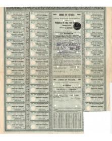 Empire du Mexique - Dette Publique Extérieure 1865, Première Série