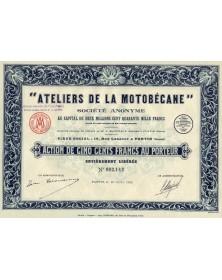 """""""Ateliers de la Motobécane""""..."""