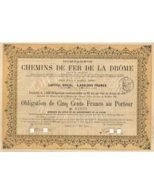 Cie des Chemins de Fer de la Drôme. 1903