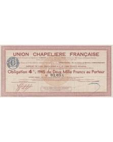 Union Chapelière Française