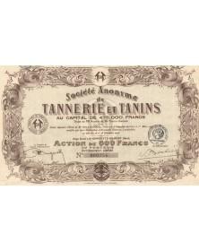 S.A. de Tannerie et Tanins