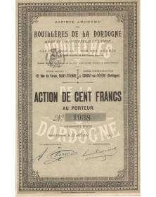 S.A. des Houillères de la Dordogne, Mines et Chaufournerie du Lardin