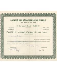 Société des Rédacteurs du Figaro (newspaper)