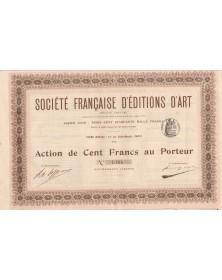 Société Française d'Editions d'Art