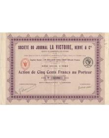 Société du Journal La Victoire, Hervé & Cie