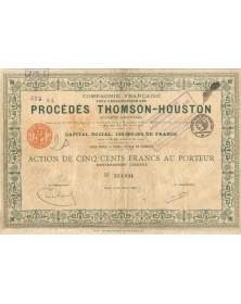 Cie Française pour l'Exploitation des Procédés Thomson-Houston (Thales). 1918