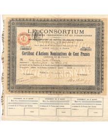 Le Consortium, Sté d'Etudes Industrielles et Financières