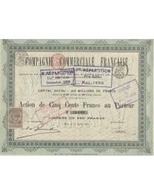 Cie Commerciale Française S.A.