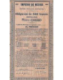 Imperio de Mexico - Deuda...