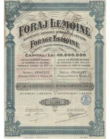 Forage Lemoine, S.A. Roumaine par Actions (Foraj Lemoine)