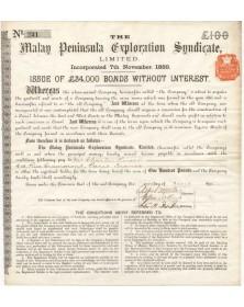 The Malay Peninsula Exploration Syndicate Ltd.