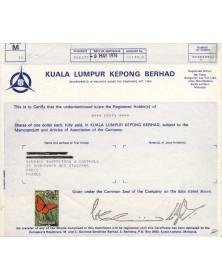Société Kuala Lumpur Kepong Berhad