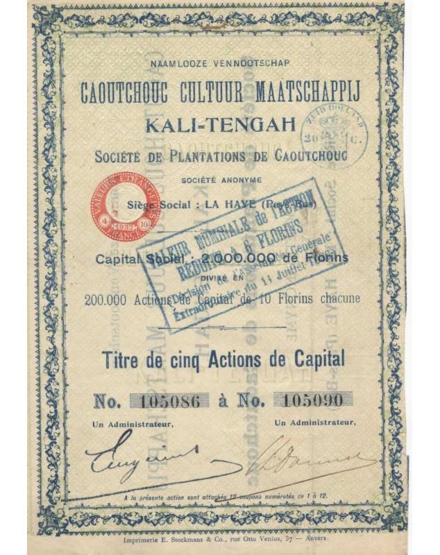 Caoutchouc Cultuur Maatschappij Kali-Tengah