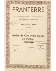 Franterre, S.A. de Terres Décolorantes Françaises