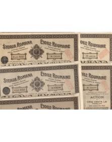 Steaua Romana, S.A. Pentru Industria Petroleului. Lot of 1921 to 1926