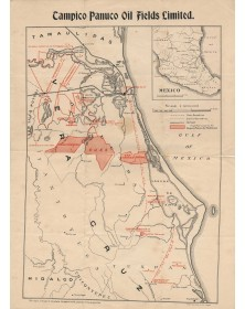 Maps of Tampico Panuco Oil Fields Limited & Tampico Oil Limited