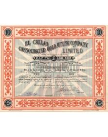 El Callao Consolidated Gold Mining Company Ltd. 1903