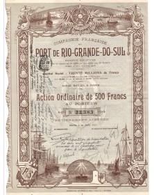 Cie Française du Port de Rio-Grande-do-Sul