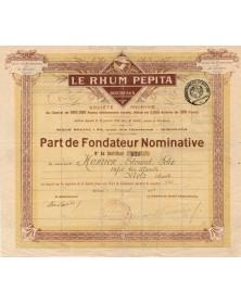 Le Rhum Pepita, Bordeaux, S.A.