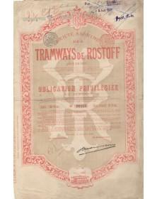 S.A. des Tramways de Rostoff (sur le Don)