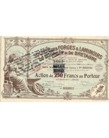 Sté des Forges & Laminoirs...
