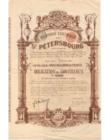 Eclairage Electrique de St-Pétersbourg S.A. (1897)