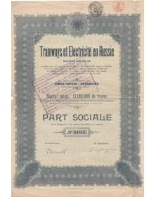 Tramways et Electricité en...