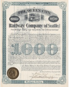 The Queen City Railway Company (of Seattle)