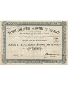 Sté Financière Française et Coloniale (SFFC)