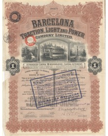 Barcelona Traction, Light and Power Co., Ltd - 1930