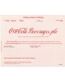 Coca-Cola Beverages plc