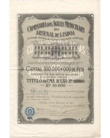 Companhia das Aguas Medicinaes do Arsenal de Lisboa