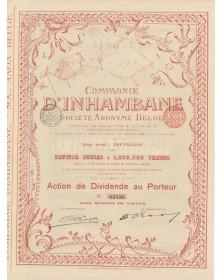 Compagnie d'Inhambane, S.A. Belge