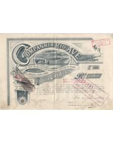 Companhia Rio Ave, Fabrica de Fiaçao, Torcedura, Tecelagem, Branqueaçao e Tinturaria de Algodao