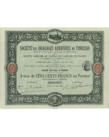 Sté des Dragages Aurifères du Tinkisso (Guinée Française, Afrique Occidentale) (1904)