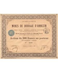 Cie des Mines de Houille d'Annezin (1896)
