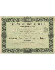 Cie des Mines de Houille de Ligny-Lez-Aire (1903)