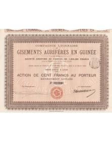 Cie Lyonnaise de Gisements Aurifères en Guinée